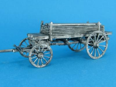 NR-F02 - French Pontoon Waggon with boards 1/72