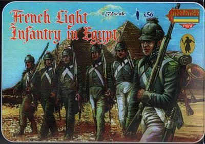M069 - French Light Infantry in Egypt 1/72