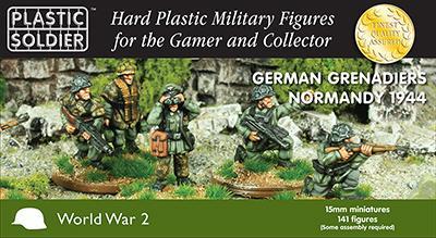 WW2015011 - German Grenadiers Normandy 1944 15mm