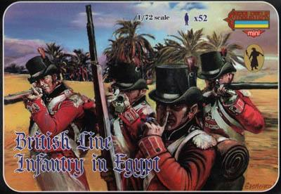 M070 - British Line Infantry in Egypt 1/72