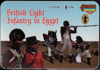 M071 - British Light Infantry in Egypt 1/72