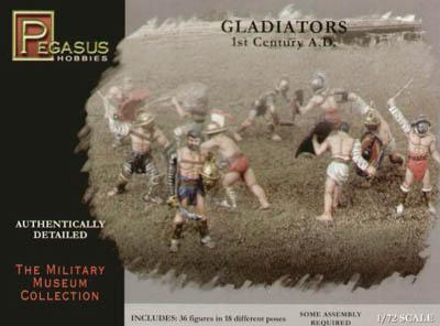 7100 - Gladiators 1/72