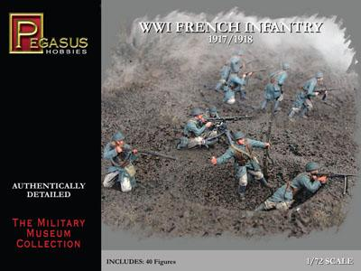 7199 - WWI French Infantry 1/72