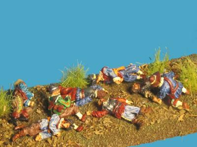 72-5101 - Verwundete & Tote Angreifer 1/72