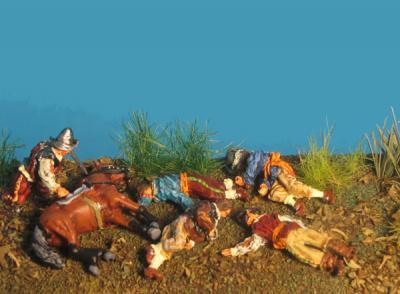 72-5102 - Verwundete & Tote Angreifer 1/72