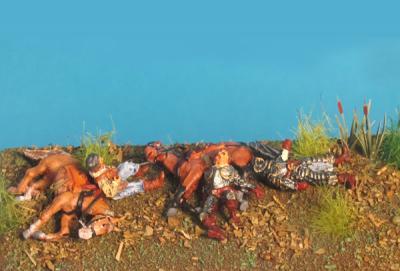 72-5103 - Verwundete & Tote Angreifer 1/72
