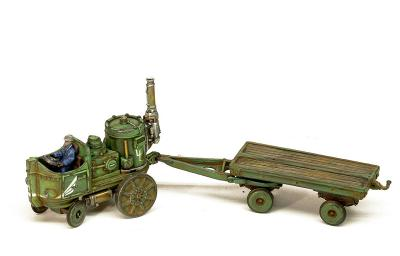 GF 72 Steam-007 Steampunk Industry Traktor 1/72