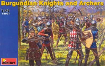 72001 - Burgundian Knights and Archers 1/72
