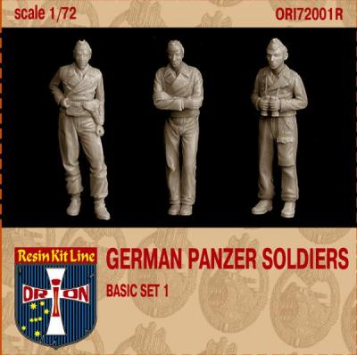 72001R - German Panzer Soldiers Basic set 1 1/72