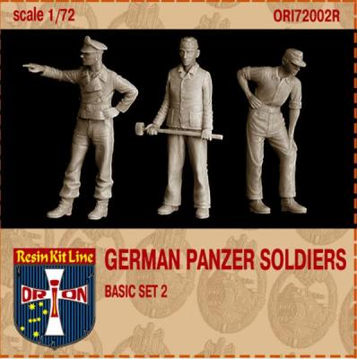 72002R - German Panzer Soldiers Basic set 2 1/72