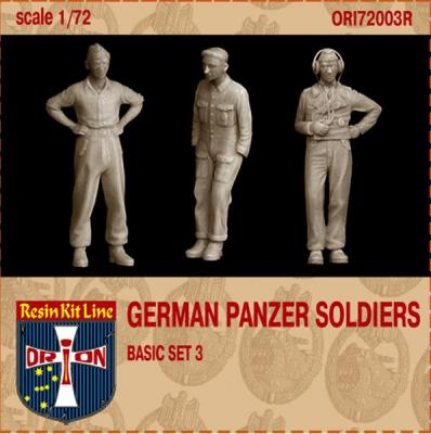 72003R - German Panzer Soldiers Basic set 3 1/72