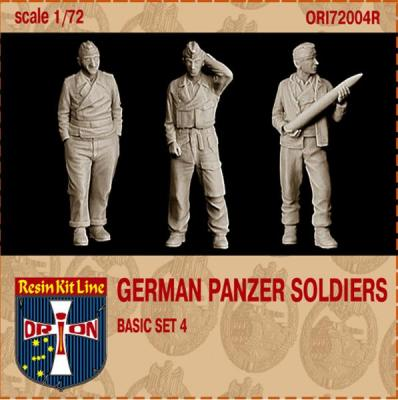 72004R - German Panzer Soldiers Basic set 4 1/72