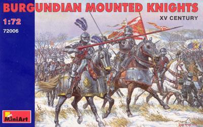 72006 - Burgundian Mounted Knights 1/72