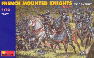 72007 - French Mounted Knights 1/72
