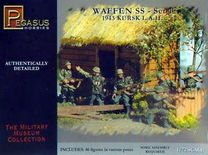 7201 - German Waffen SS 1/72