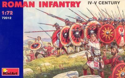 72012 - Roman Infantry 1/72