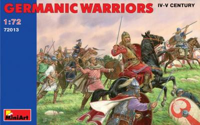 72013 - Germanic Warriors 1/72
