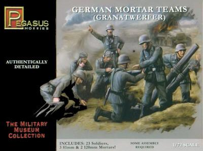 7204 - German Mortar Teams 1/72