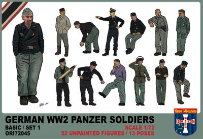 72045 - German WWII Panzer Soldiers (Basic Set 1) 1/72