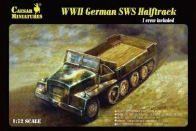 7210 - German SWS Halftrack 1/72