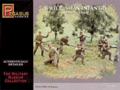 7268 - WWII Russian Infantry (Summer Dress) 1/72