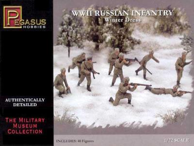 7269 - WWII Russian Infantry (Winter Dress) 1/72