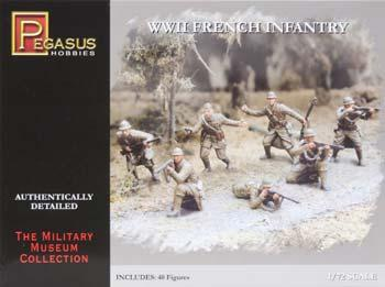 7306 - WWII French Infantry 1/72