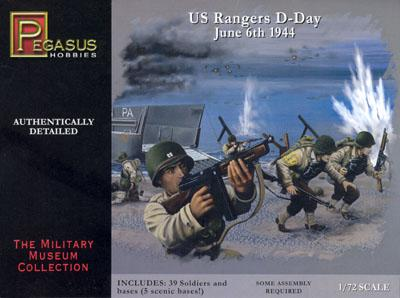 7351 - US Rangers D-Day 1/72