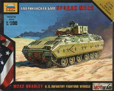 7406 - U.S. M2A2 Bradley Infantry Fighting Vehicle 1/100