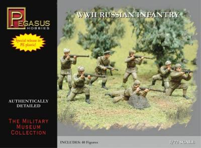 7498 - WWII Russian Infantry 1/72