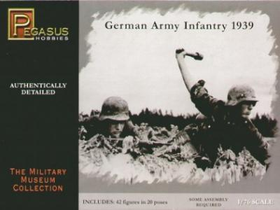 7499 - German Army Infantry 1939 1/76