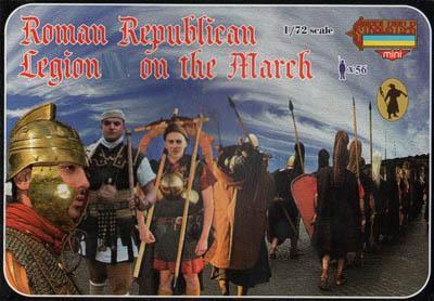 M078 - Roman Republican Legion on the March 1/72