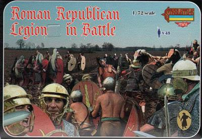 M079 - Roman Republican Legion in Battle 1/72
