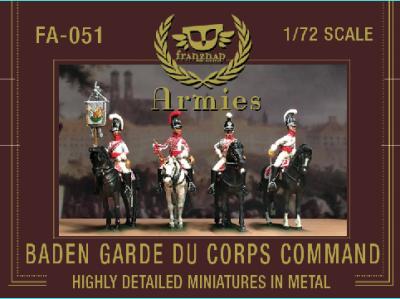 FA-051 Baden Garde du Corps Command 1/72