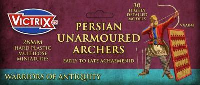 VXA041 28mm PERSIAN UNARMOURED ARCHERS VITRIX