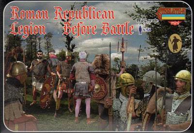M080 - Roman Republican Legion Before Battle 1/72