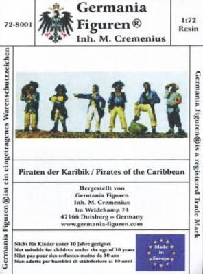 72-8001 - 6 verschiedene Piraten 1/72