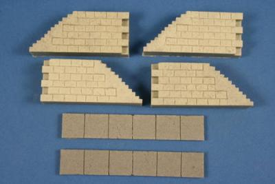 ML80300 - Stairs and corners 1/72