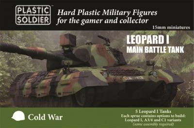 MODV15002 - Leopard 1 Main Battle Tank 15mm