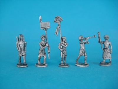 ÄG-02 Egyptians - command group II, 5 parts.1/72