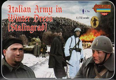 M082 - Italian Army in Winter Dress (Stalingrad) 1/72
