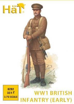 8292 - WWI British Infantry (early) 1/72