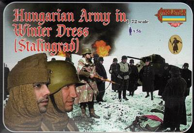 M083 - Hungarian Army in Winter Dress (Stalingrad) 1/72