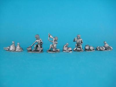 ÄG-10 Egyptians - Lunchtime, 11 parts. 1/72