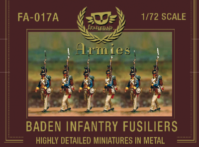 FA-017a - Baden Infantry Fusiliers 1/72