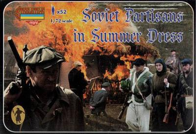 M085 - Soviet Partisans in Summer Dress 1/72