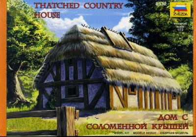 8532 - Thatched Country House 1/72