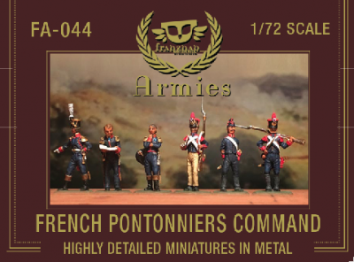 FA-044 French Pontonniers Command 1/72