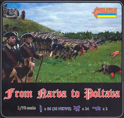 904 - From Narva to Poltava 1/72