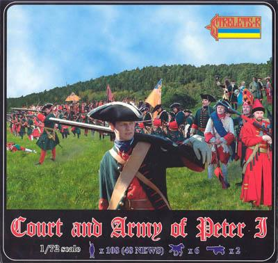 905 - Court and Army of Peter 1 1/72